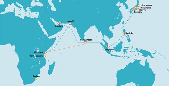 アフリカ航路