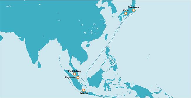 インドネシア航路