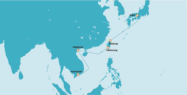 台湾・ベトナム航路